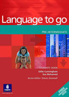 Language To Go Pre-Intermediate, Elève
