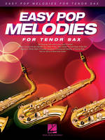 Easy Pop Melodies - for Tenor Sax, 53 tubes avec paroles et accords