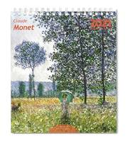 MINI CALENDRIER CHEVALET 2021 MONET