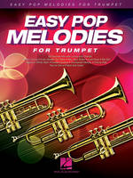 Easy Pop Melodies - for Trumpet, 54 tubes avec paroles et accords