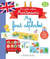 Mes petits ateliers Montessori My first alphabet
