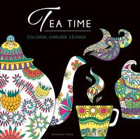 Coloriage Black - Tea time