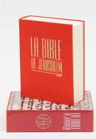 LA BIBLE DE JERUSALEM - MAJOR TOILE ROUGE