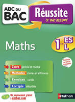 ABC du BAC Réussite Maths 1re ES-L