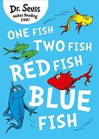 ONE FISH TWO FISCH RED FISH BLUE FISH