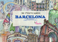 Barcelona Original - Postcard Book