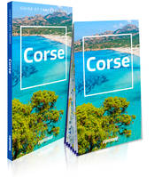CORSE (GUIDE ET CARTE LAMINEE)